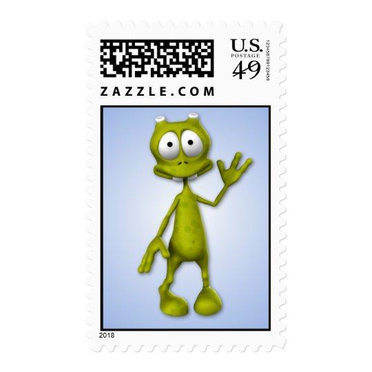 Lil' Alien Postage