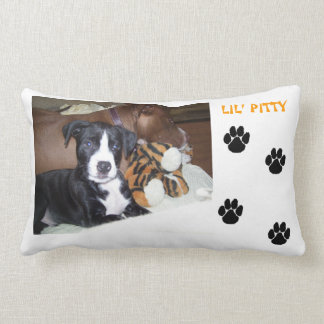 Lil' ANGEL (baby PITTY) Throw Pillow