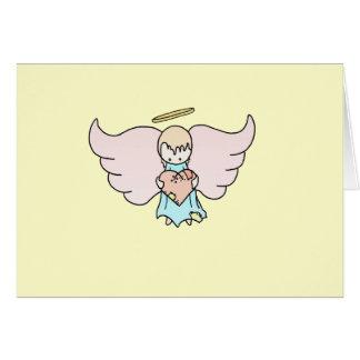Lil Angel Greeting Card