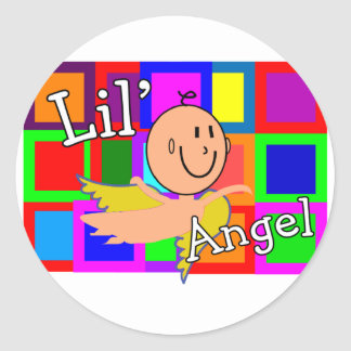 Lil Angel MOSAIC With Angel Baby--Adorable Sticker