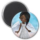 Lil Angels 2 Inch Round Magnet