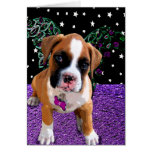 lil Angels Greeting Card Boxer Puppy