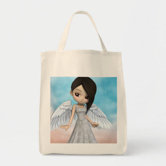 Lil Angels Grocery Tote Bag