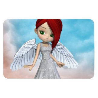 Lil Angels Rectangular Magnets