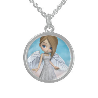Lil Angels Sterling Silver Necklace