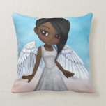 Lil Angels Throw Pillow