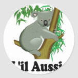 L'il Aussie. Cute Australian Koala Stickers