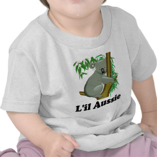 L'il Aussie. Koala australiana linda Camiseta
