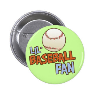 Lil' Babseball Fan 2 Inch Round Button