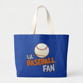 Lil' Babseball Fan Large Tote Bag