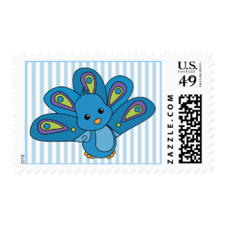 Lil' Baby Peacock Postage