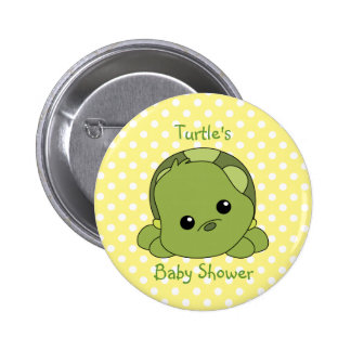 Lil Baby Turtle Pinback Button