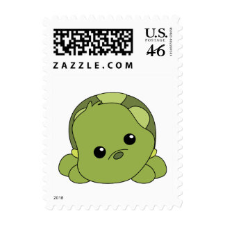 Lil Baby Turtle Postage Stamp