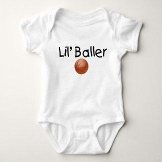 Lil Baller Basketball Baby Bodysuit