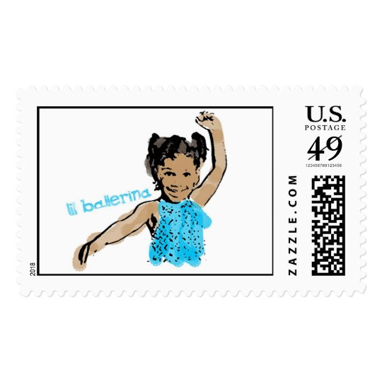Lil Ballerina Postage