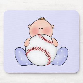 Lil Baseball Baby Boy Mouse Pad