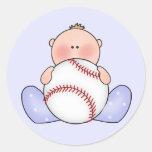 Lil Baseball Baby Boy Sticker