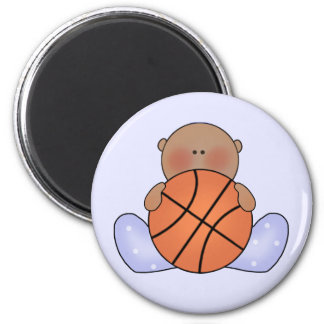 Lil Basketball Baby Boy - Ethnic Magnet