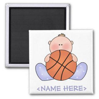 Lil Basketball Baby Boy Magnet