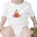 Lil Basketball Baby Girl Tshirt