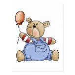 Lil' Bears · Baby Boy Balloon Postcard