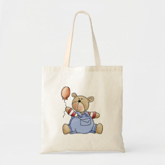 Lil' Bears · Baby Boy Balloon Tote Bag