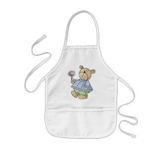 Lil' Bears · Baby Boy Blue & Green Pyjamas Kids' Apron