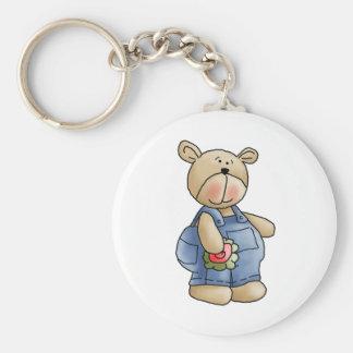 Lil' Bears · Baby Boy Blue Romper Keychain