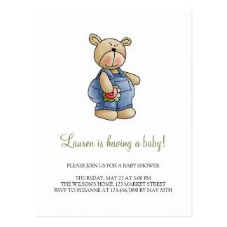 Lil' Bears · Baby Boy Blue Romper Postcard