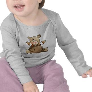 Lil' Bears · Baby Boy Brown Romper
