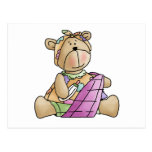 Lil' Bears · Baby Girl Purple Blanket Post Card