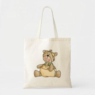 Lil' Bears · Baby Girl Yellow Romper Tote Bag
