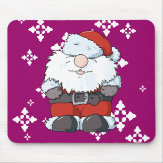 Lil' Big Beard Santa Mouse Pad