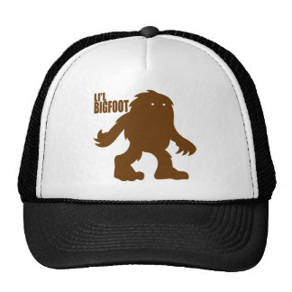 LI'L BIGFOOT Adorable Logo - Cute Brown Sasquatch Trucker Hat