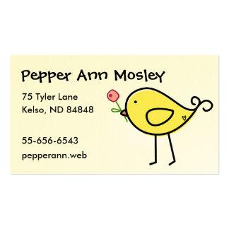 Lil' Birdie Business Cards
