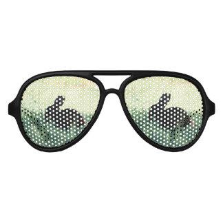 Lil Black Bunny Aviator Sunglasses