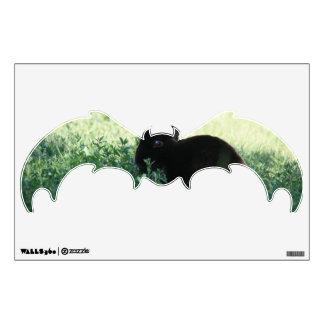 Lil Black Bunny Bat Wall Decal