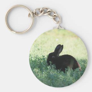 Lil Black Bunny Keychain