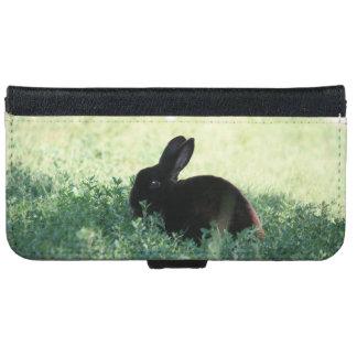 Lil Black Bunny iPhone 6 Wallet Case