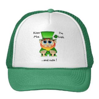 Lil Blarney Kiss  Me Trucker Hat