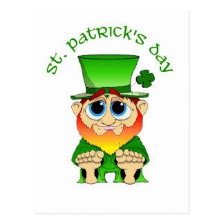 Lil Blarney St Patricks Day Postcard
