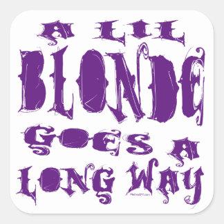 Lil Blonde Stickers