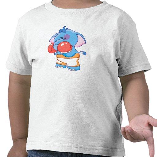 Lil Blue Elephant Boxing Shirts