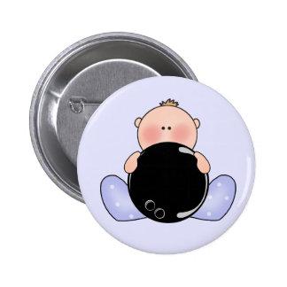 Lil Bowling Baby Boy Pinback Button