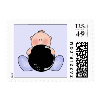 Lil Bowling Baby Boy Stamps