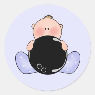 Lil Bowling Baby Boy Sticker