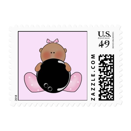 Lil Bowling Baby Girl - Ethnic Postage