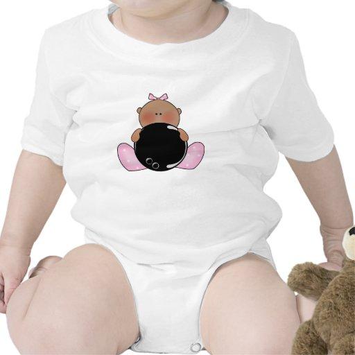 Lil Bowling Baby Girl - Ethnic Tshirt