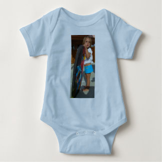 Lil' Brah Loves Salty Sis Baby Bodysuit