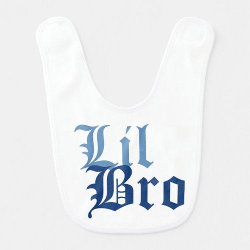 Lil Bro Baby Bib